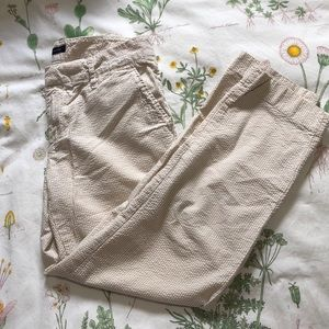 Tommy Hilfiger Women's Tan Cropped Khaki Pants